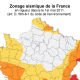 Carte zonage sismique France