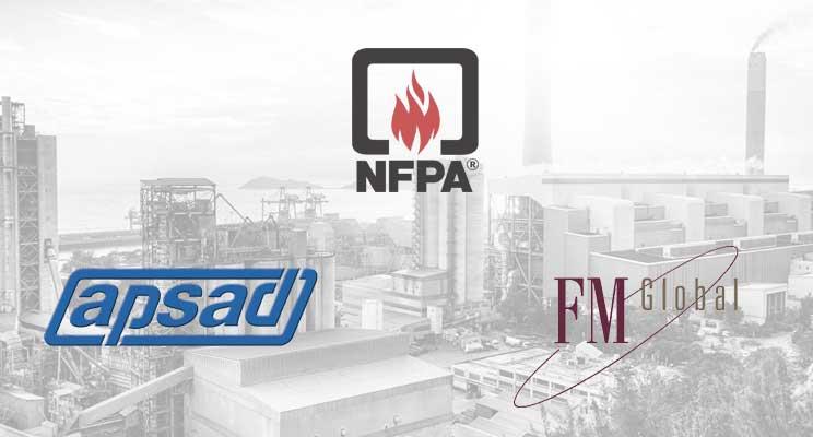 Référentiels assureurs en sécurité incendie APSAD NFPA FM Global
