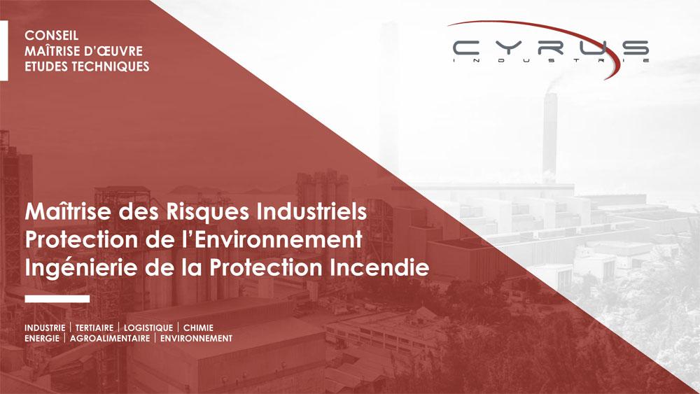 Plaquette de Cyrus Industrie