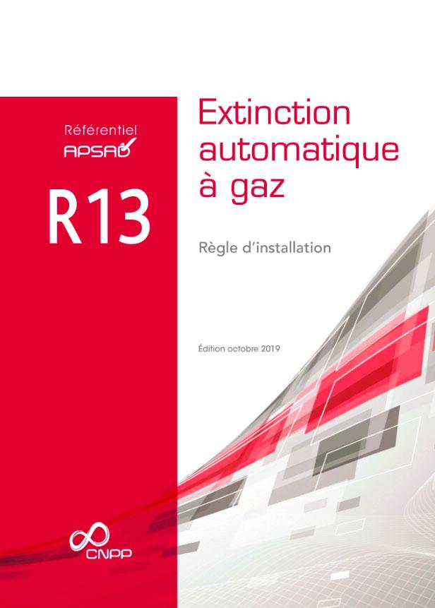 Couverture réglementation APSAD R13