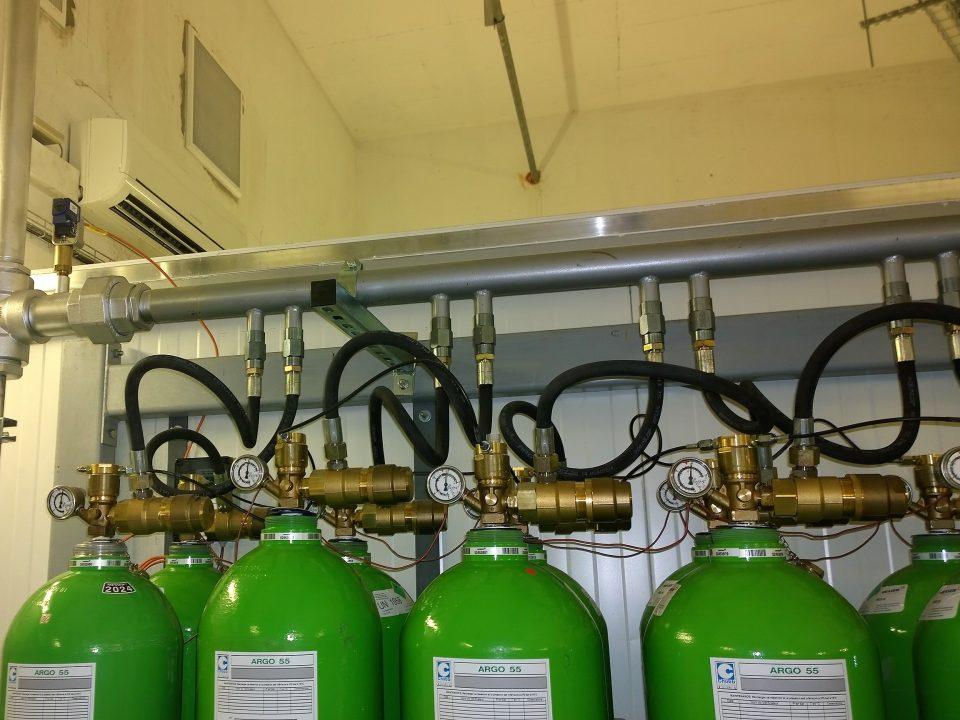Extinction gaz IEAG